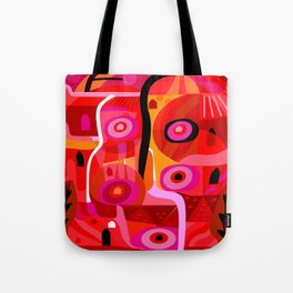 Zacatecas (Red) Tote Bag