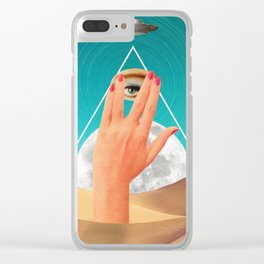 Allseeing eye Clear iPhone Case