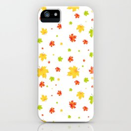 fall of the leaves iPhone Case