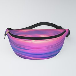 Rayleigh Scattering Beach | Painting Fanny Pack