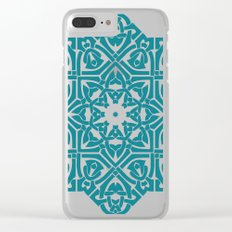 Celtic Knotwork Pattern Clear iPhone Case