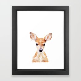 Little Deer Framed Art Print