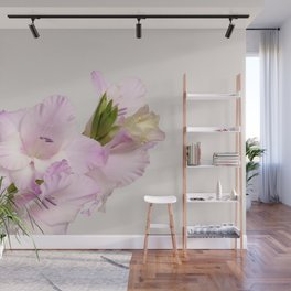 Branch of gladiolus flowers Wall Mural