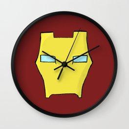 Iron Man Mask Wall Clock