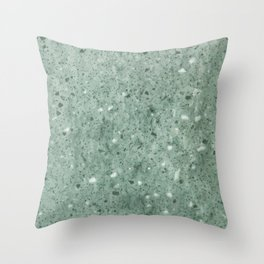 Jade Rock Sand Throw Pillow