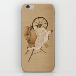 The Geese and the Pumpkin iPhone Skin