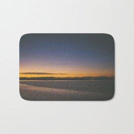 Christchurch Sunset Bath Mat