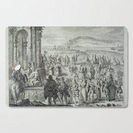 A.J. Defehrt - Cortège of Janus (1764) Cutting Board