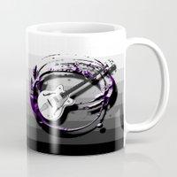 bass Mugs featuring Music - Bass by yahtz designs
