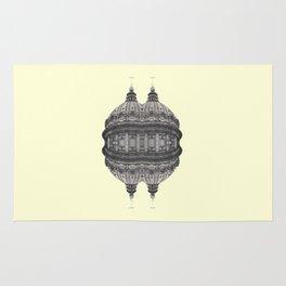 Baroque hipster ufo Rug