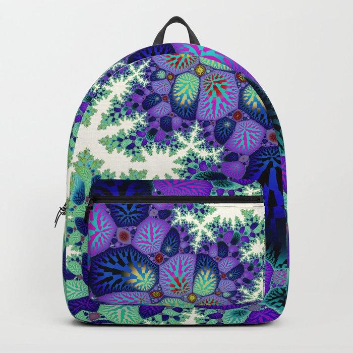 Leafy Nosegay Fractal Backpack