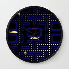 Pac-Fish III Wall Clock