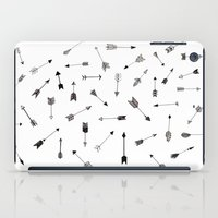 arrows iPad Cases featuring Arrows by Justine Lecouffe