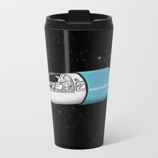 Space Capsule Metal Travel Mug