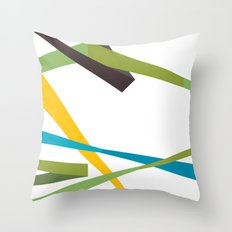 Banners Throw Pillow