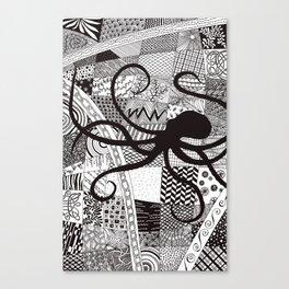 Cephalopoda Canvas Print