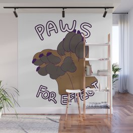 PAWS for Effect Wall Mural