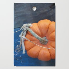 Blue Pumpkin Cutting Board