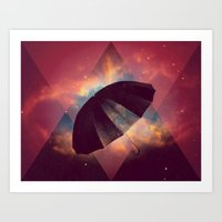 umbrella Art Prints featuring Umbrella by Mr and Mrs Quirynen