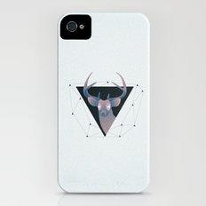 Deer Hipster Slim Case iPhone (4, 4s)