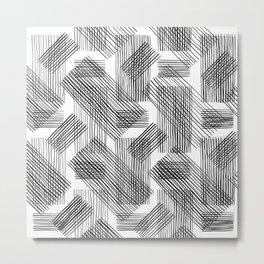 Grid by Grid Metal Print