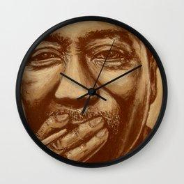 """""""mississippi man"""" Wall Clock"""