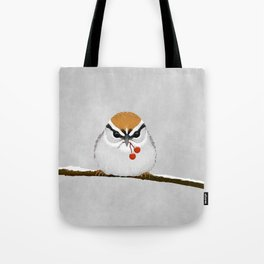 Chipping Sparrow on a Branch Tote Bag