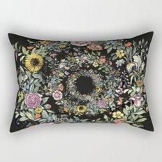Circle of Life Dark Rectangular Pillow