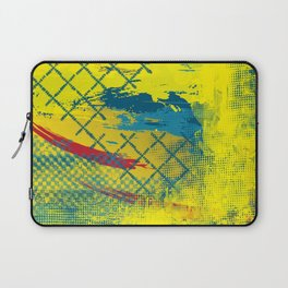 Blue Fence Laptop Sleeve