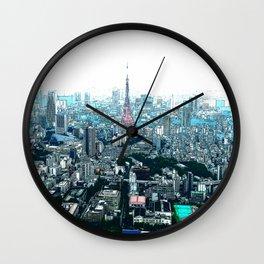 My Love - Tokyo Tower Skyline Wall Clock