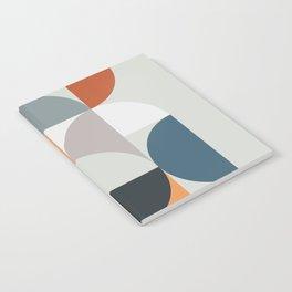 Mid Century Geometric 11 Notebook
