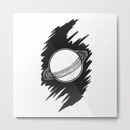 Planet Metal Print