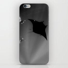 Manta and Divers iPhone Skin