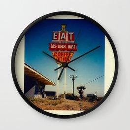 EAT Wall Clock