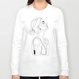 B Color Beauty Long Sleeve T-shirt