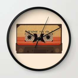 Awesome Mix Vol 1 Wall Clock