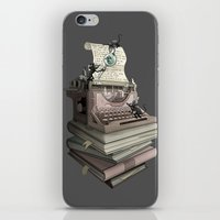 bookworm iPhone & iPod Skins featuring Bookworm by BlancaJP