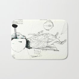 FLY TO YOU Bath Mat