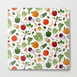 BG - Mixed salad Metal Print