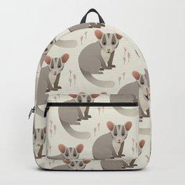 Leadbeater Possum, Animal of Victoria, Australia Backpack