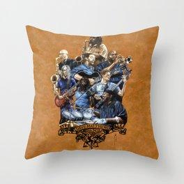 DaveMatthewsBand Throw Pillow