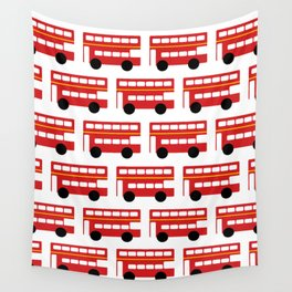 London Red Bus Wall Tapestry