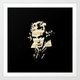 Beethoven - German Composer Art Print