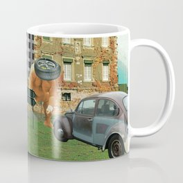 city unreal · hinaus aufs land Coffee Mug