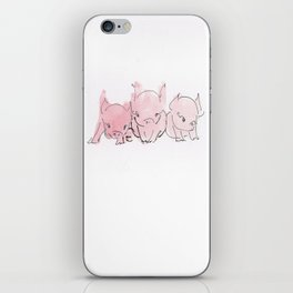 Sleepy Piglets iPhone Skin