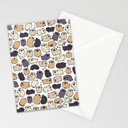 Pug Life Doodle Stationery Cards