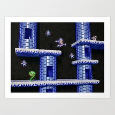 Inside Ghosts 'n' Goblins Art Print