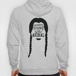 Wednesday Addams is my Spirit Animal Hoody