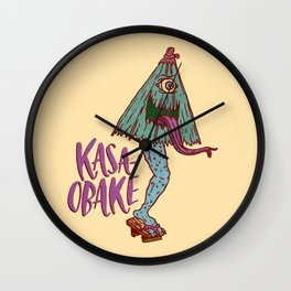 Kasa-obake Wall Clock