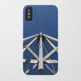 Sky and steel iPhone Case